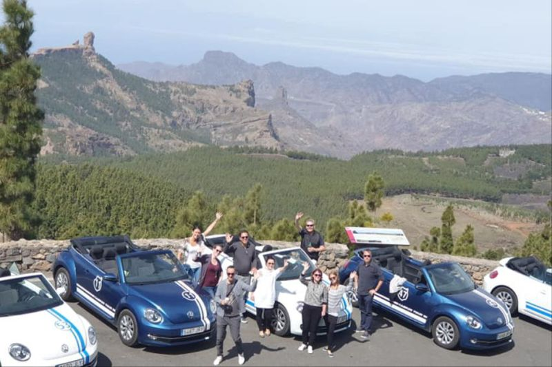 Beatle cabrio big mountain tour
